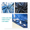 Factory Hot Seller Marble Quick Dry Round Microfiber Beach Towel with Tassels For Summer