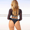 Wholesale Three Pieces Swimsuit Sunshine Proof Bikin Set