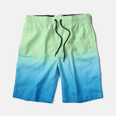 Wholesale Fading Blue Men's Trunk 2021 Trend Swimming Shorts