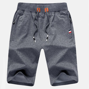 Wholesale Light Heather Grey Men's Trunk 2021 Trend Swimming Shorts